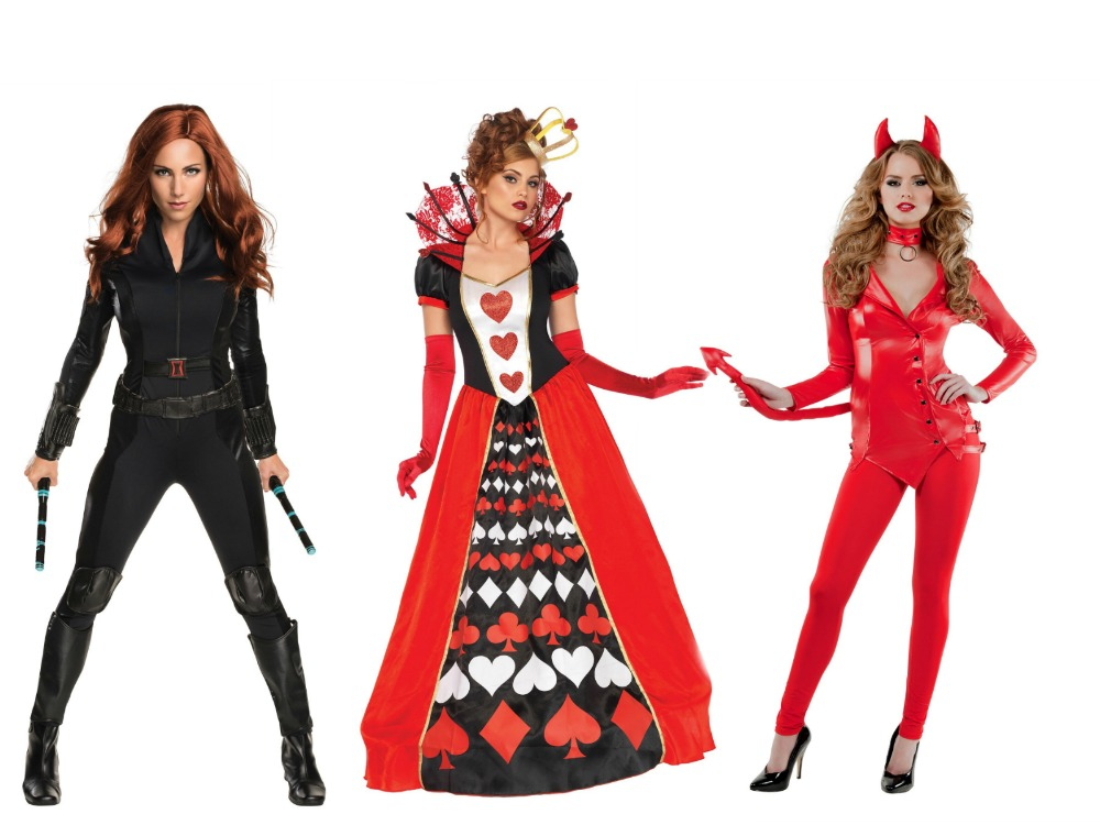 Black Widow Costume Queen of Hearts Costume Devil Costume  sc 1 st  Halloween Costumes & Costume Ideas for Redheads - Halloween Costumes Blog