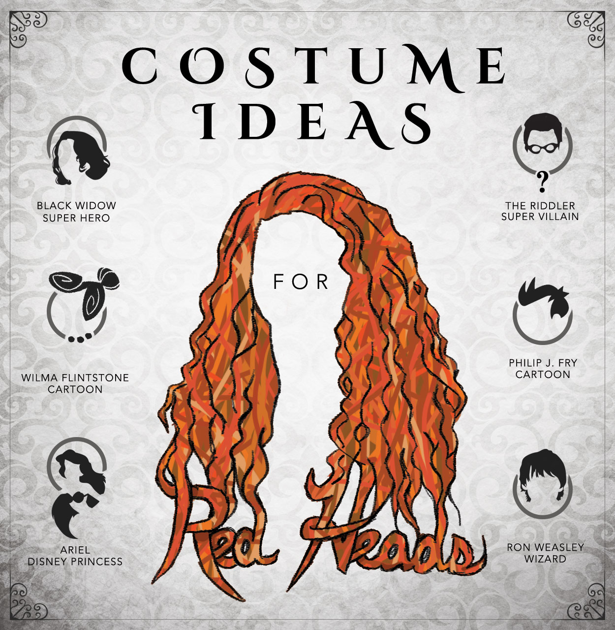 If you find that your hair blends in with the autumn leaves it might be hard to find a costume that really fits you! Redheads only make up about 2% of the ...  sc 1 st  Halloween Costumes & Costume Ideas for Redheads - Halloween Costumes Blog