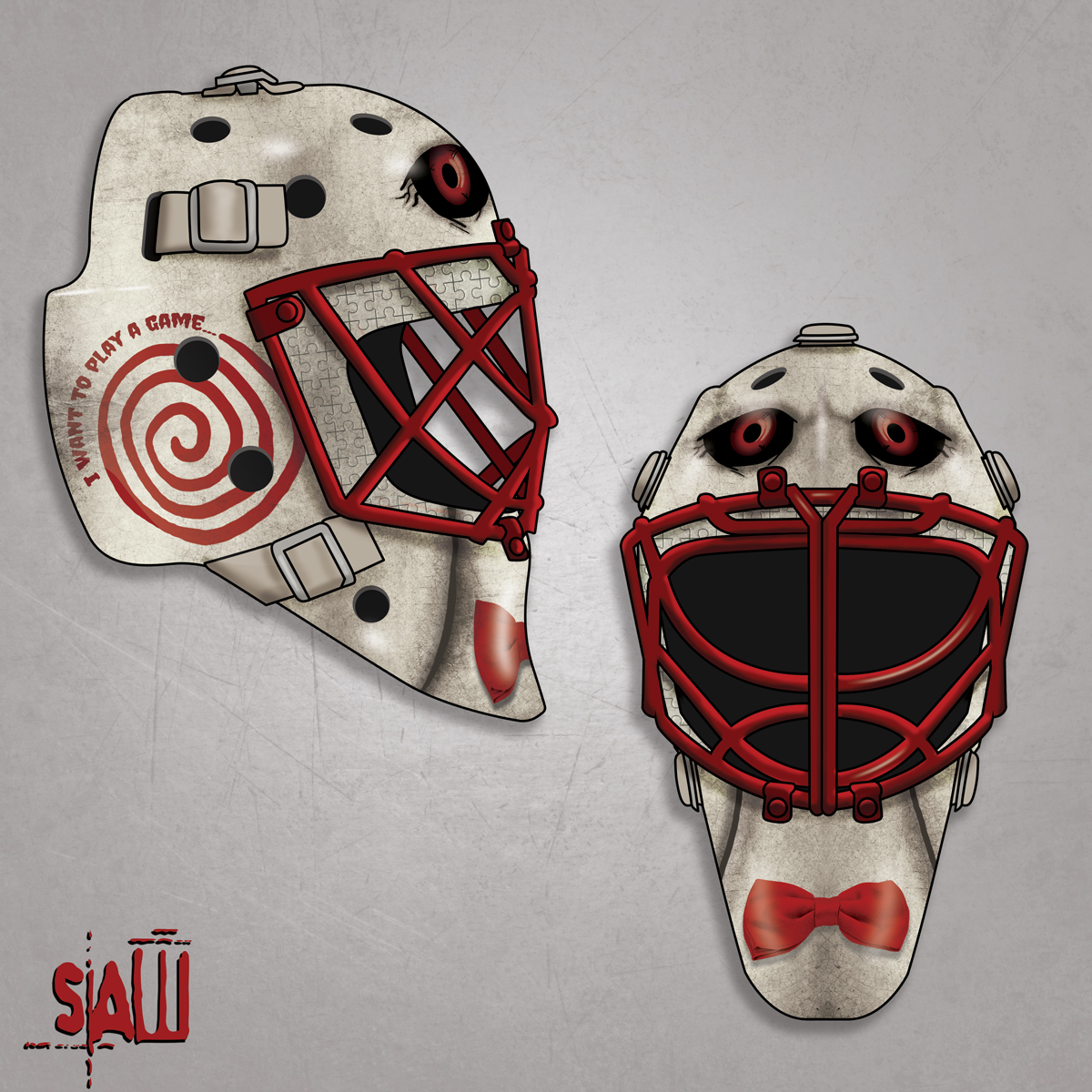 Billy the Puppet Hockey Mask