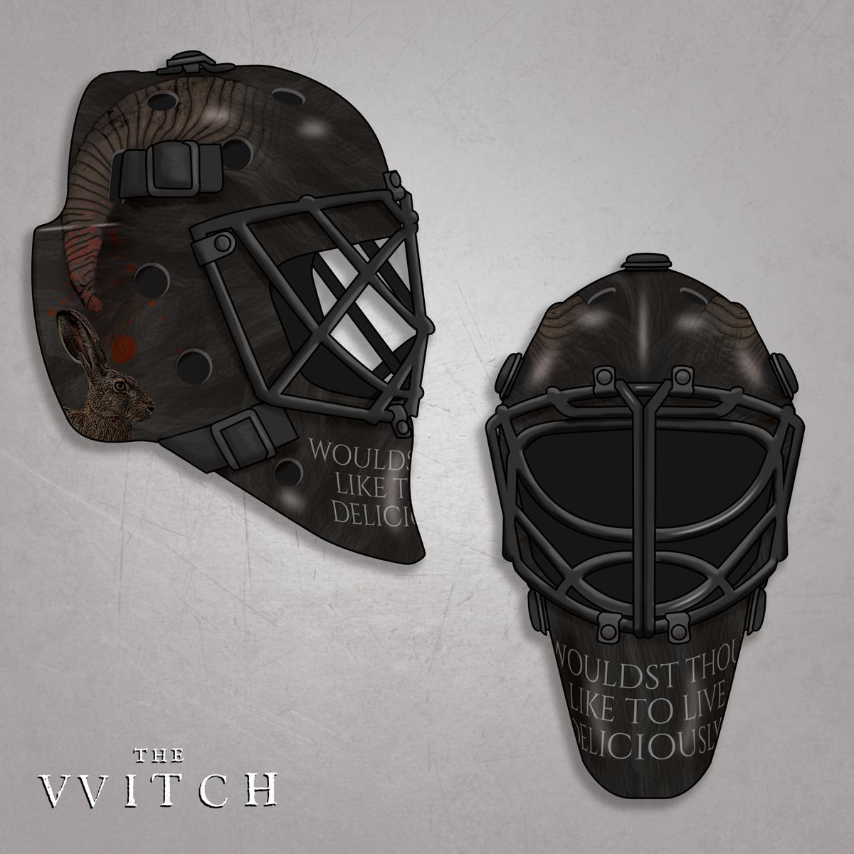 Black Phillip Hockey Mask