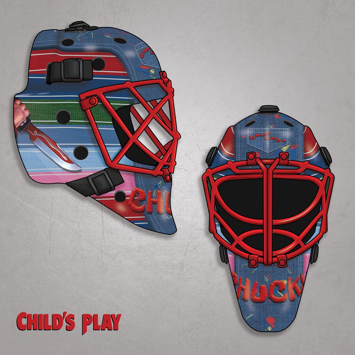 Chucky Hockey Mask