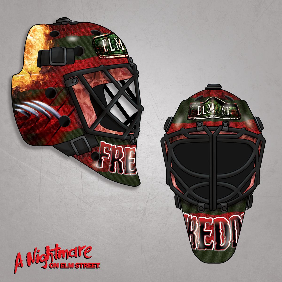 Freddy Krueger Hockey Mask