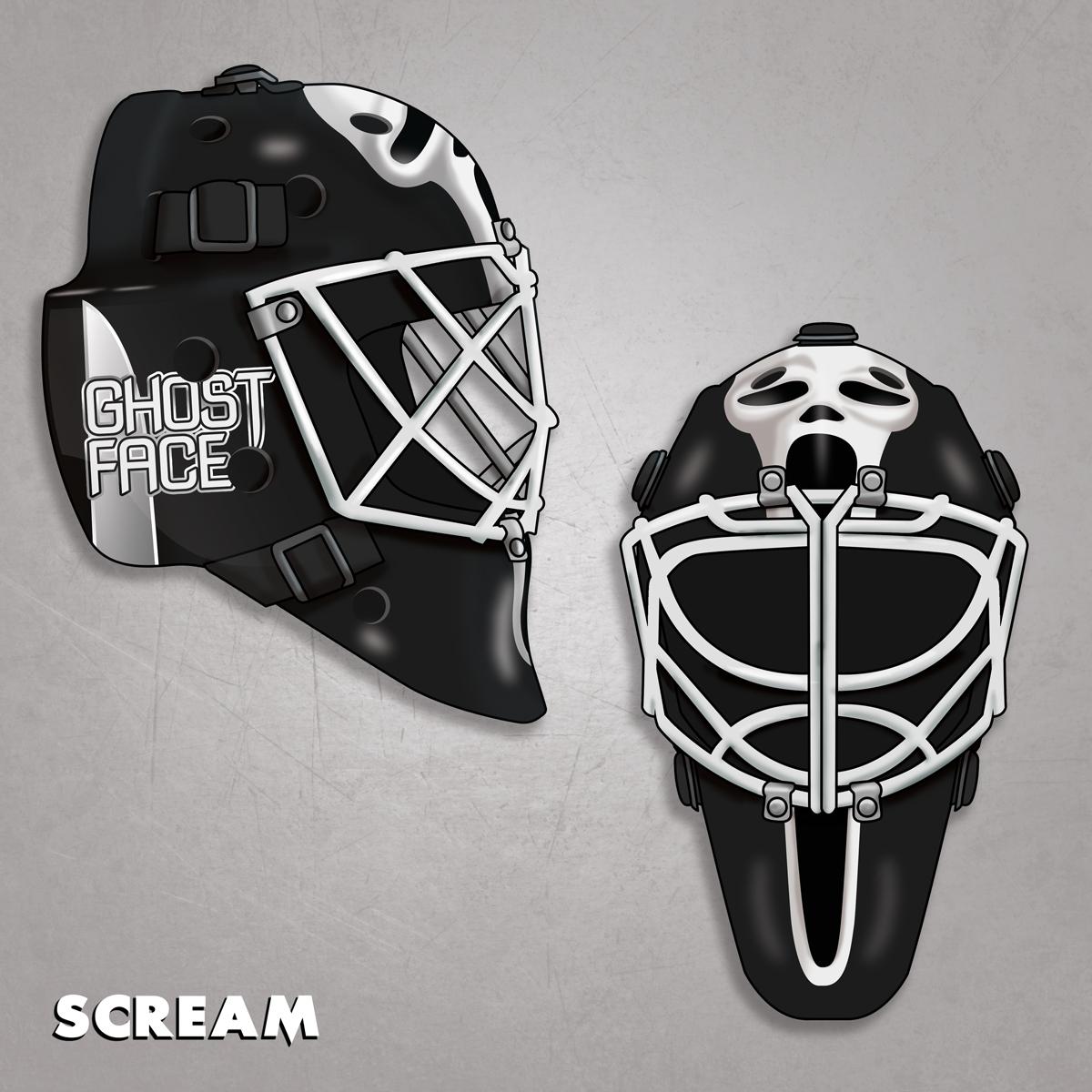 Ghostface Hockey Mask