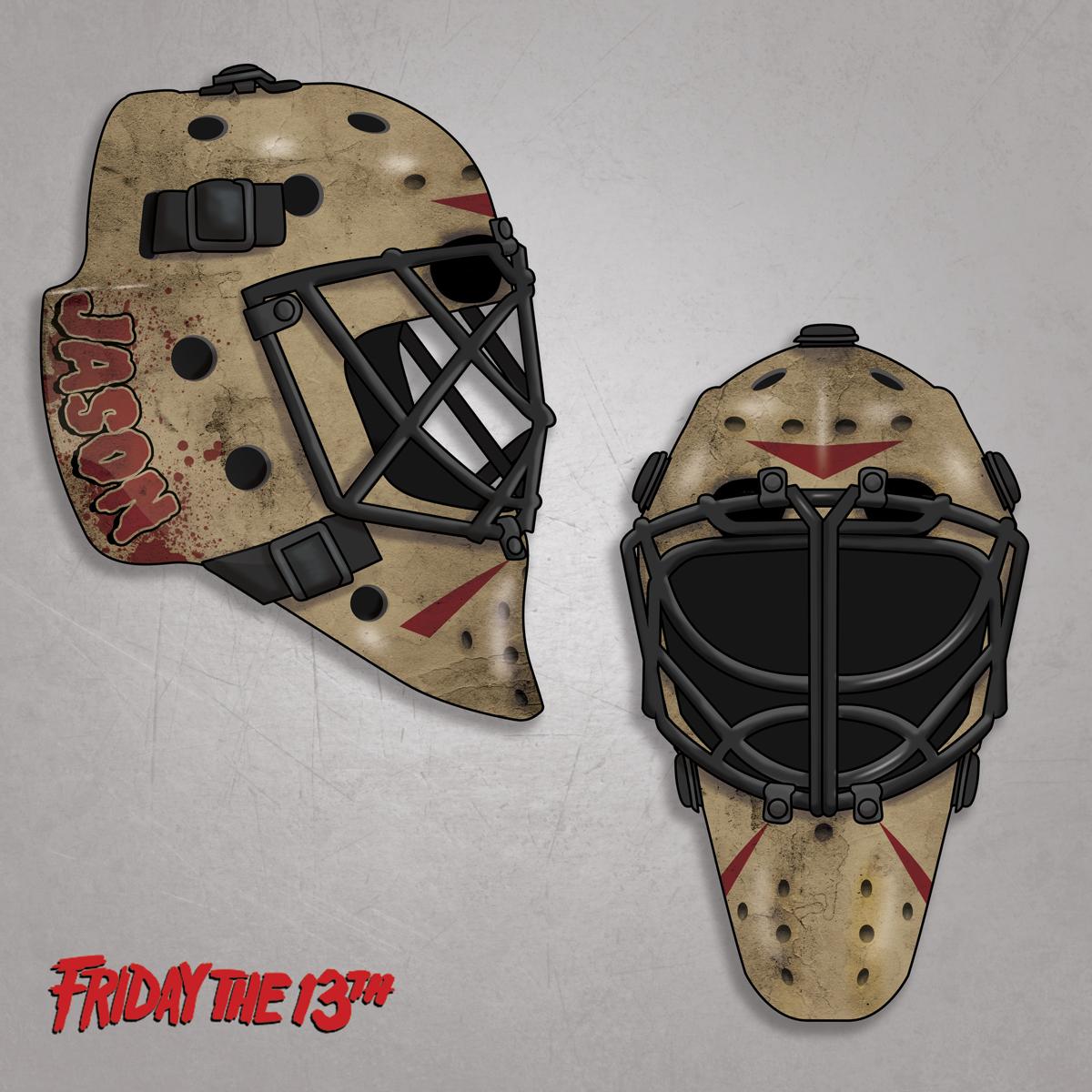 Jason Voorhees Hockey Mask