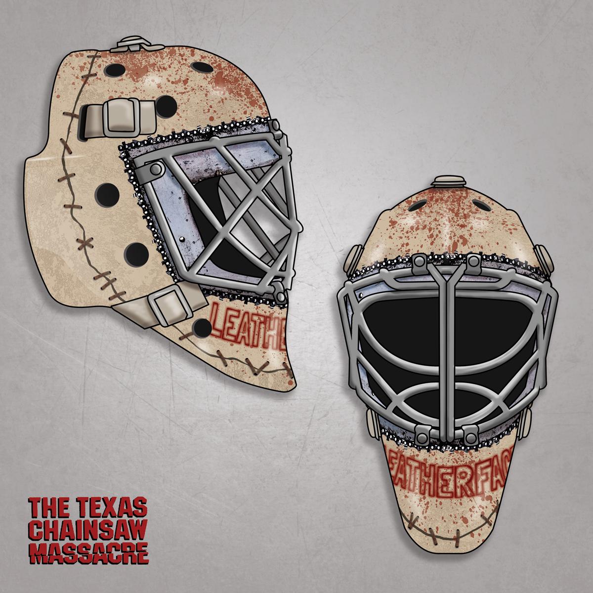 Leatherface Hockey Mask