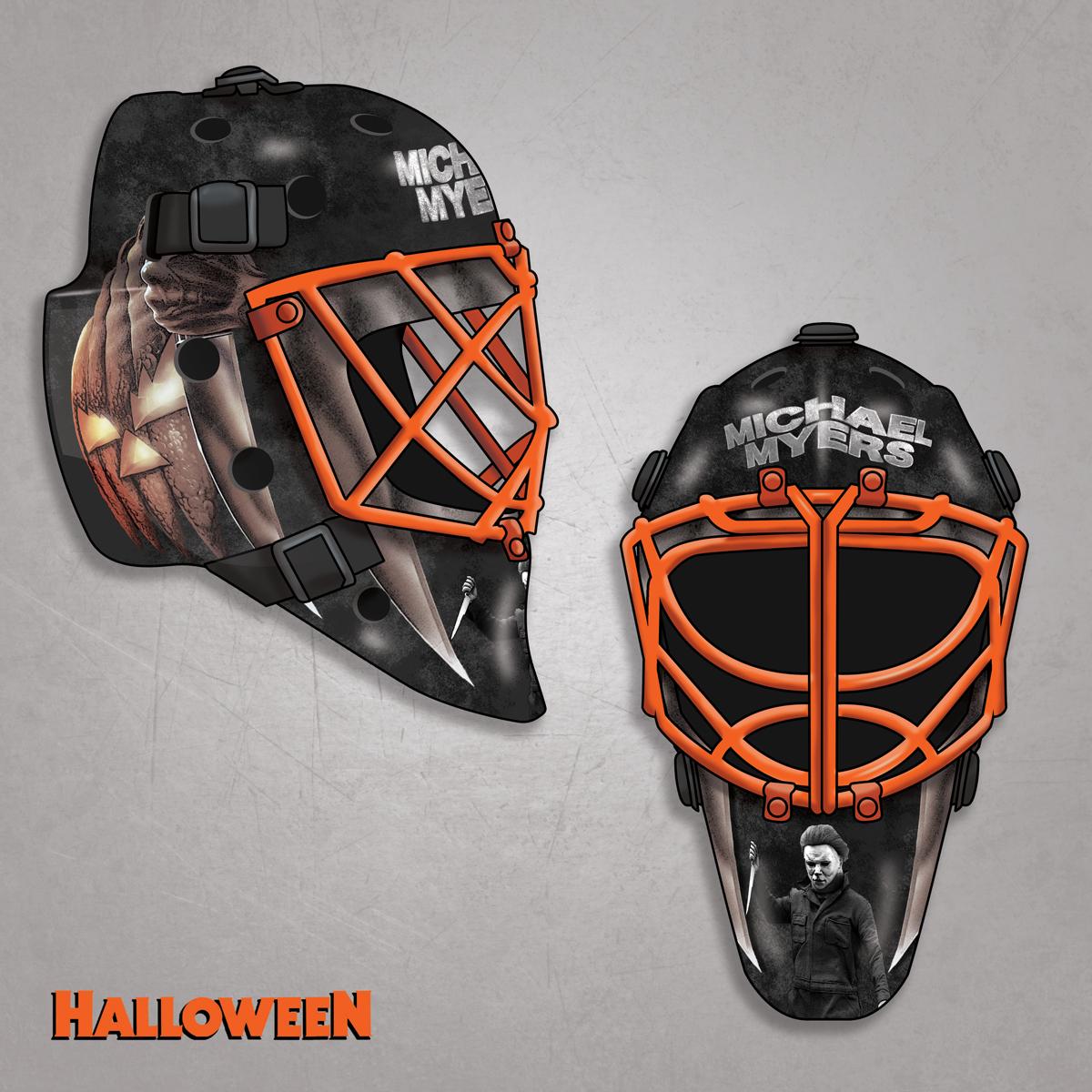 Horror Hockey Masks 12 Goalie Masks Inspired By Horror Movie