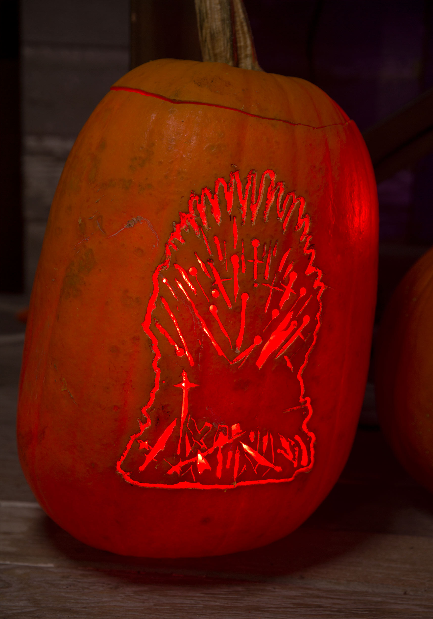Iron Throne Pumpkin