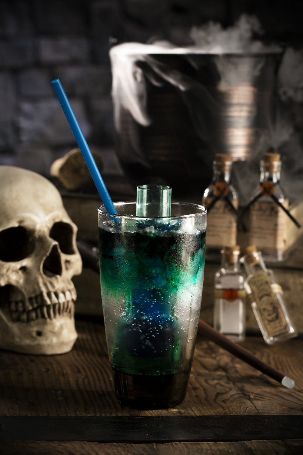 Harry Potter Cocktails: The Avada Kedavra Adios