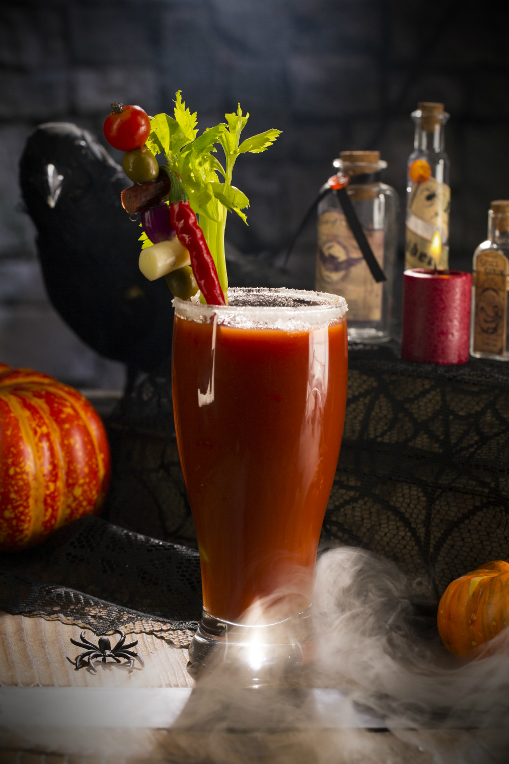 Harry Potter Cocktails: The Bloody Baron's Blood Mary