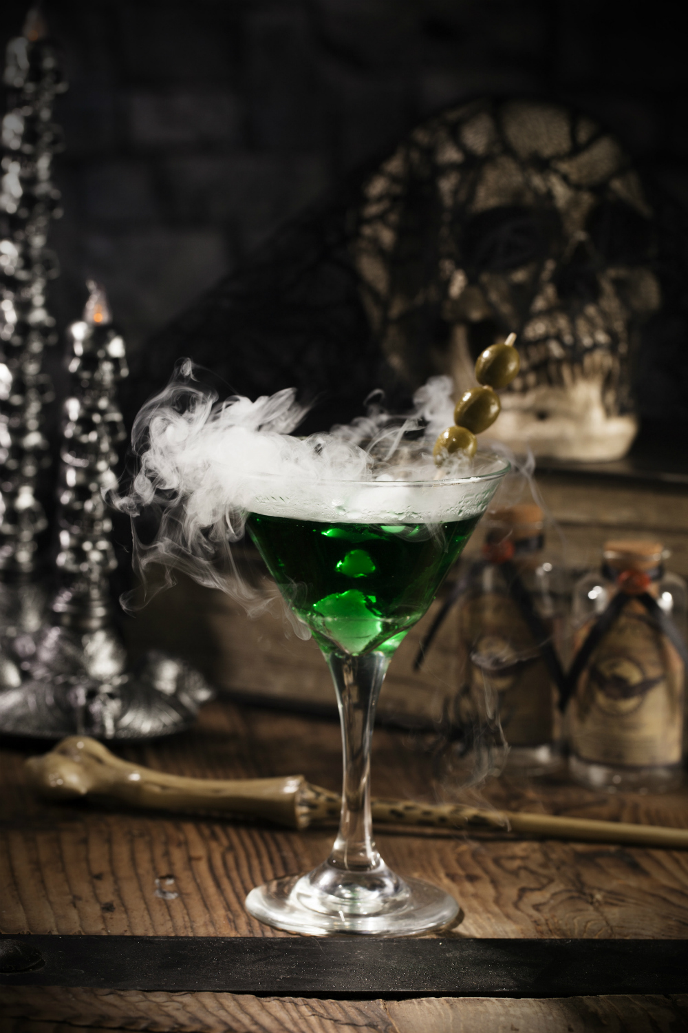Harry Potter Cocktails: Death Eater Dirty Martini