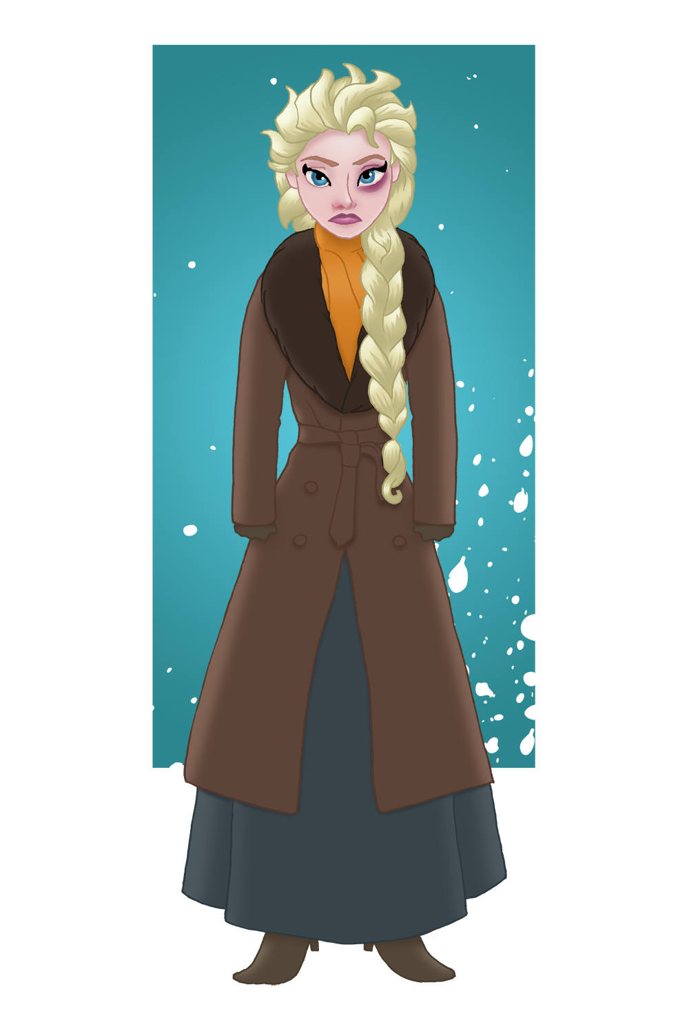 Elsa in The Hateful Eight