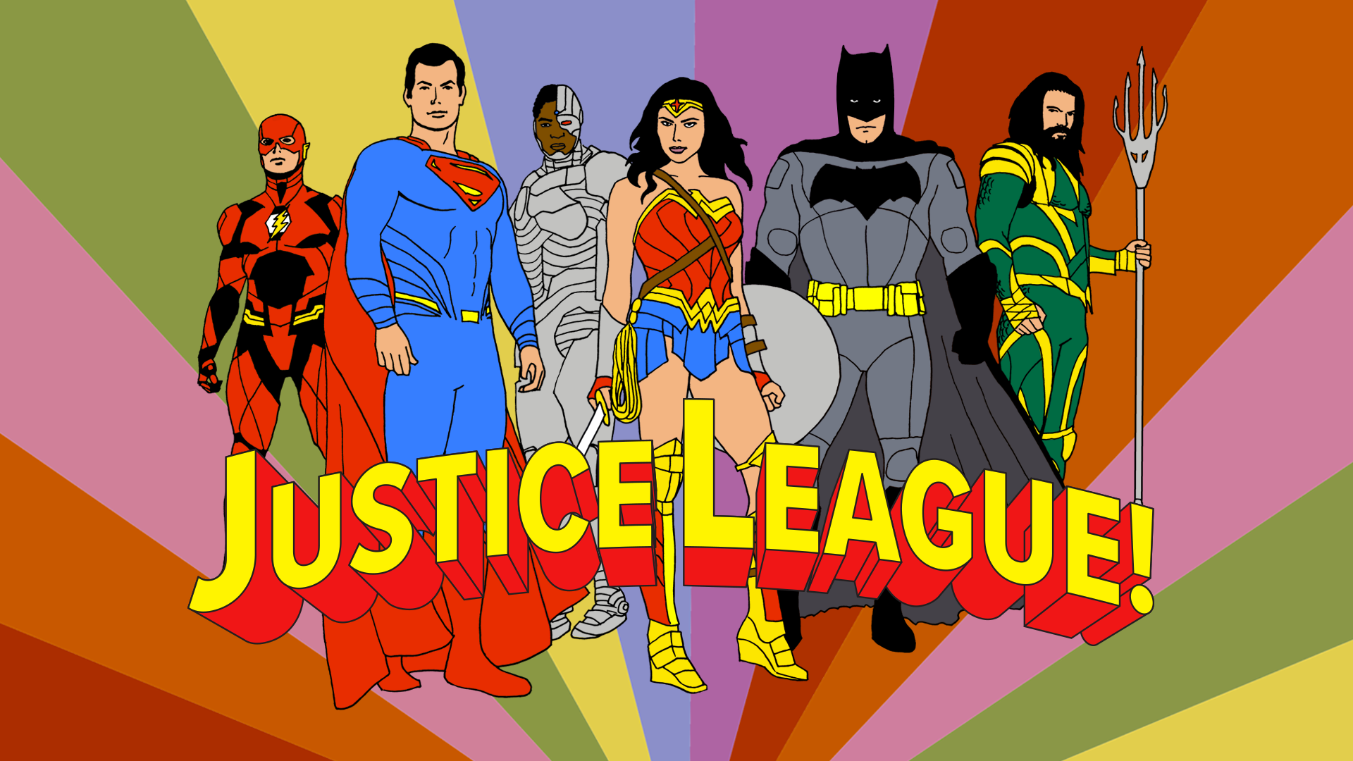 Justice League Widescreen Wallpaper