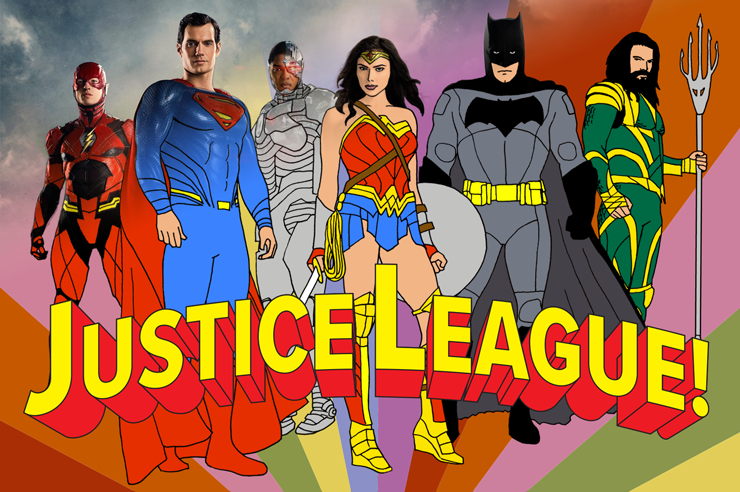 Justice League: Then and Now Header Image