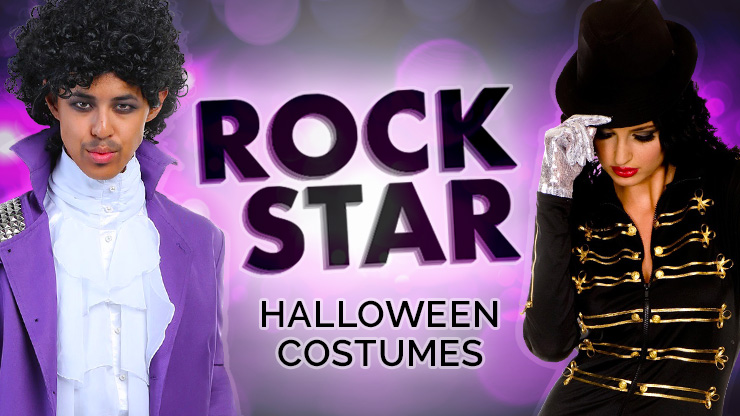 Rock Star Halloween Costumes