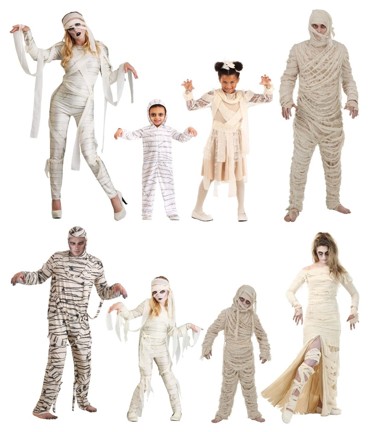 Mummy Costume Ideas
