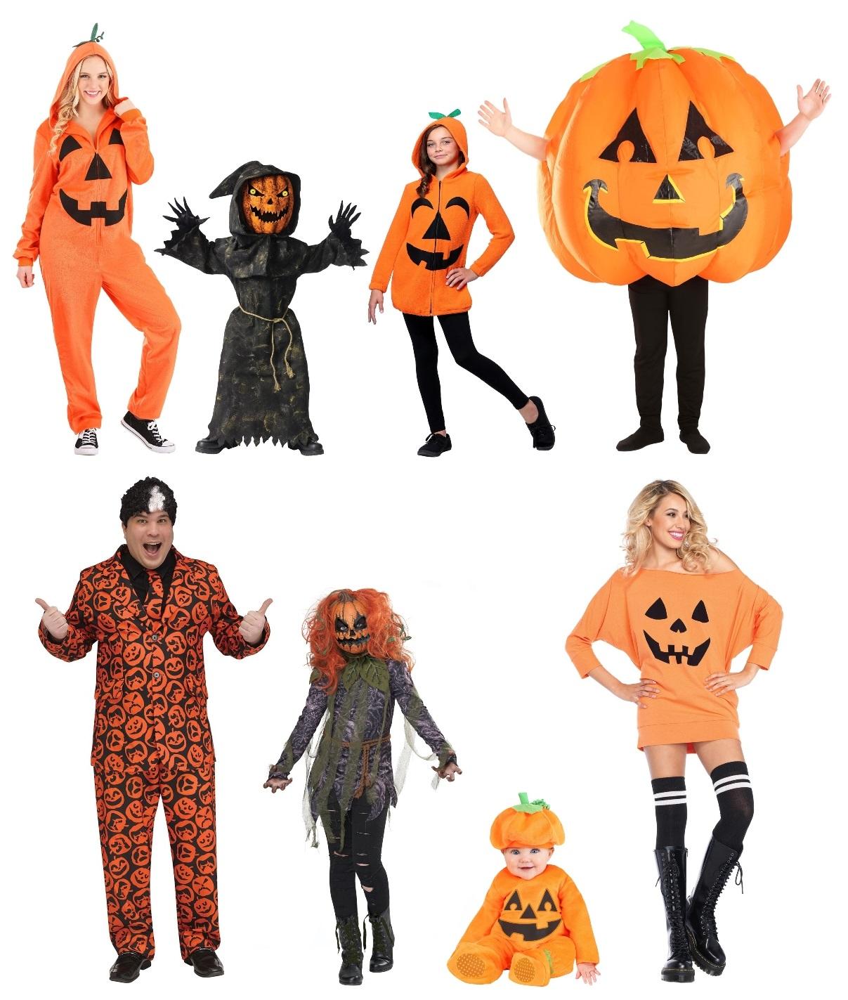 Pumpkin Costume Ideas