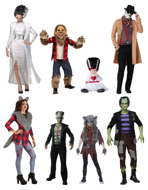 Universal Monster Costume Ideas