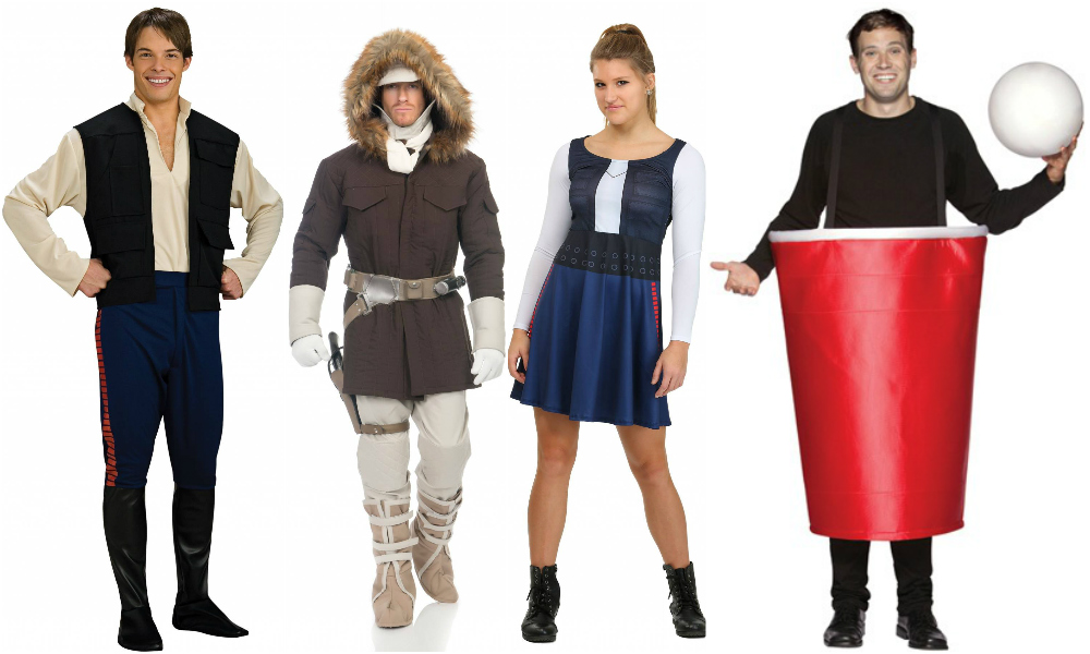 Han Solo Cup pun costumes