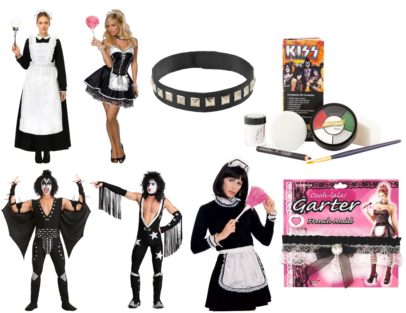 French Kiss Halloween Costume