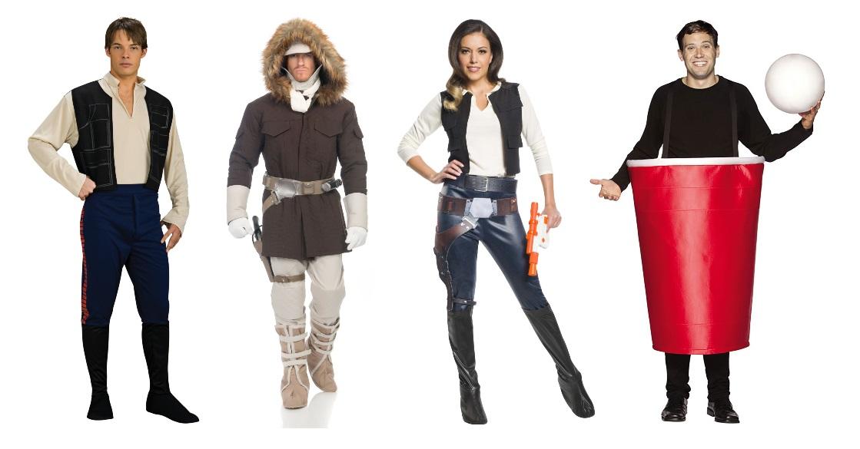 Han Solo Cup Halloween Costume