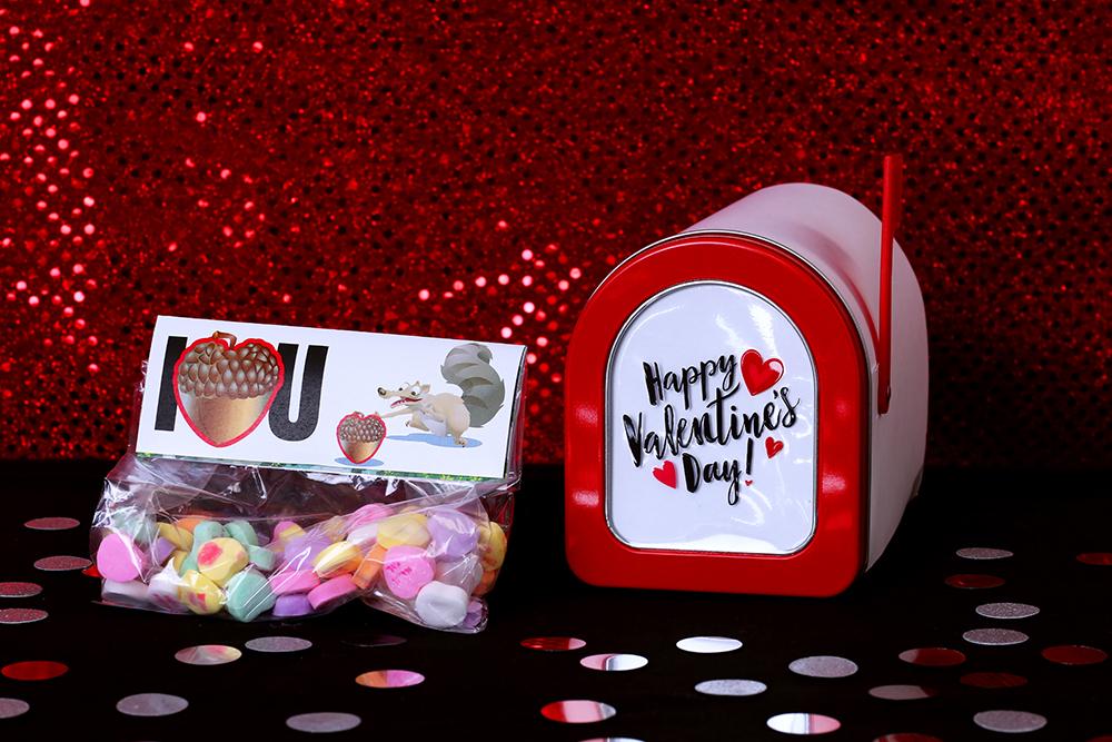 Scrat Printable Valentines