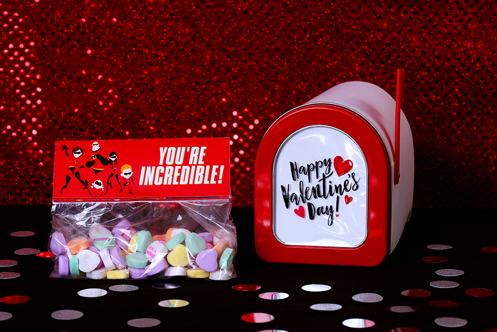 The Incredibles Printable Valentines