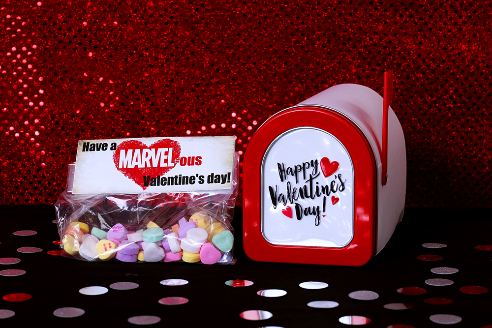 Marvel Printable Valentines