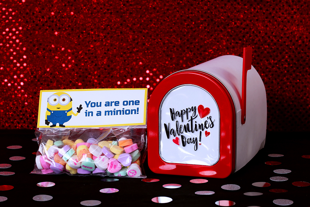 Minion Printable Valentines