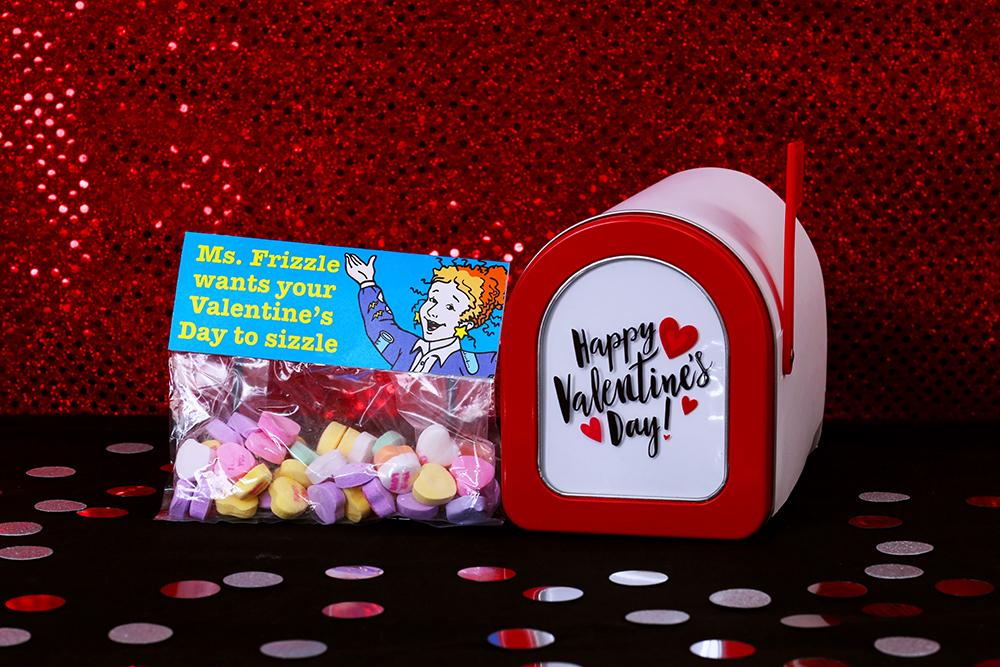 Ms. Frizzle Printable Valentines