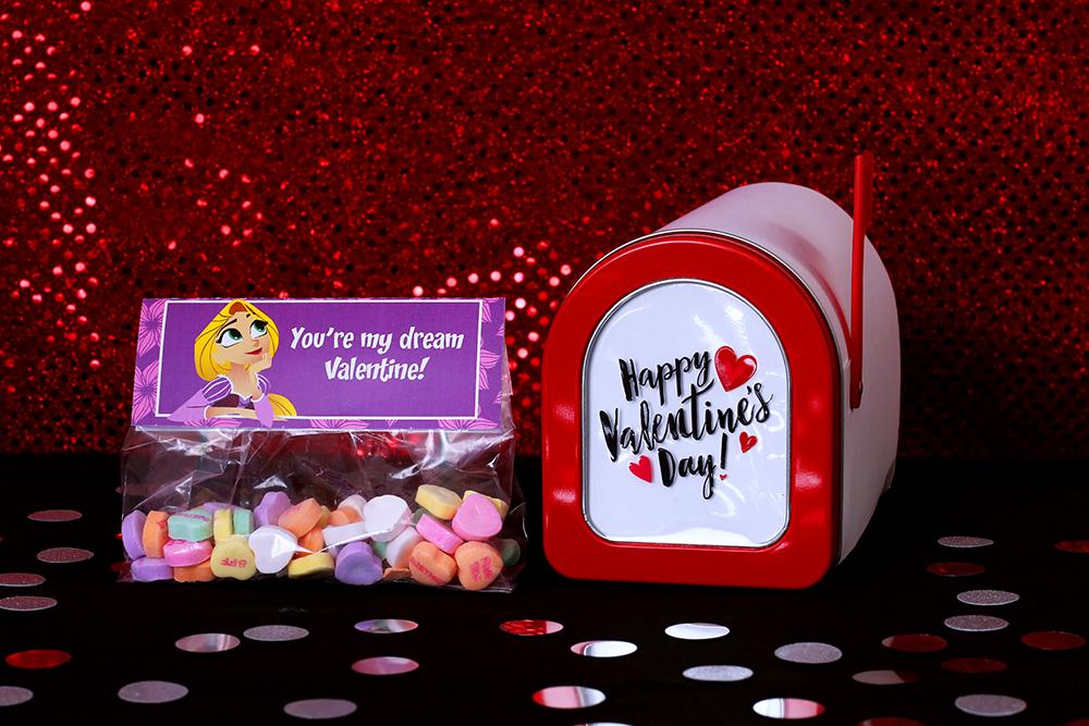 Rapunzel Printable Valentines