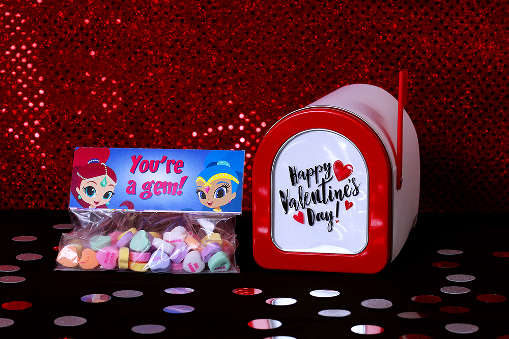 Shimmer and Shine  Printable Valentines