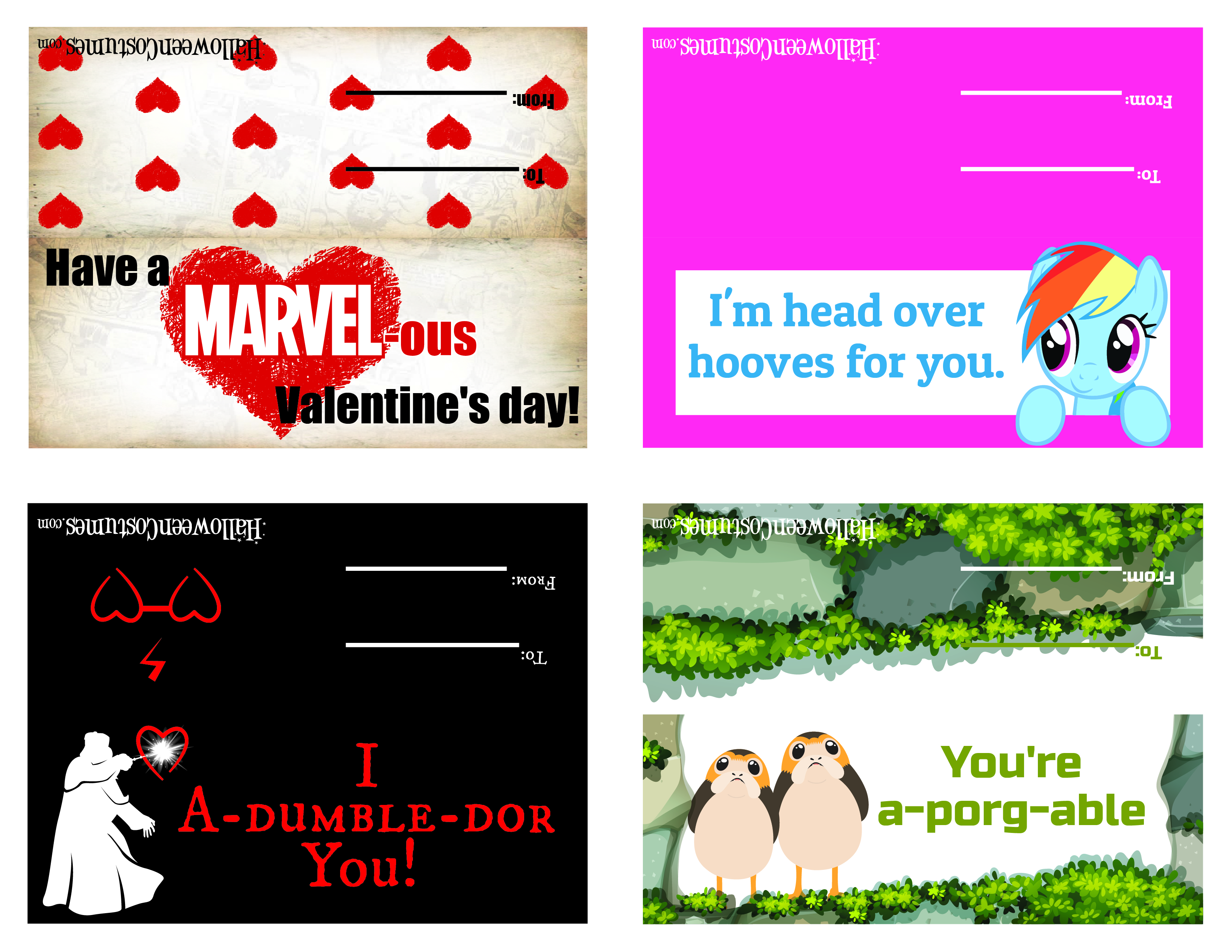 2018 Printable Valentine 01
