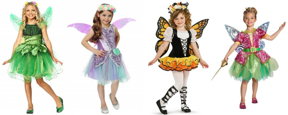 Girls' Fairy Costumes