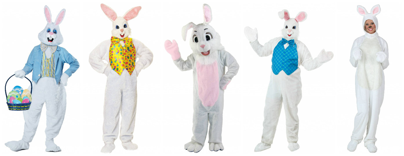 Easter Bunny Costumes for Adults
