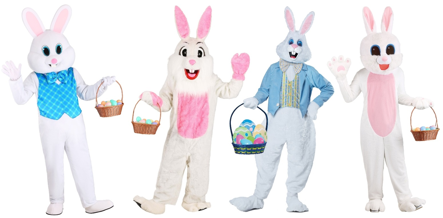Easter Bunny Mascot Costumes