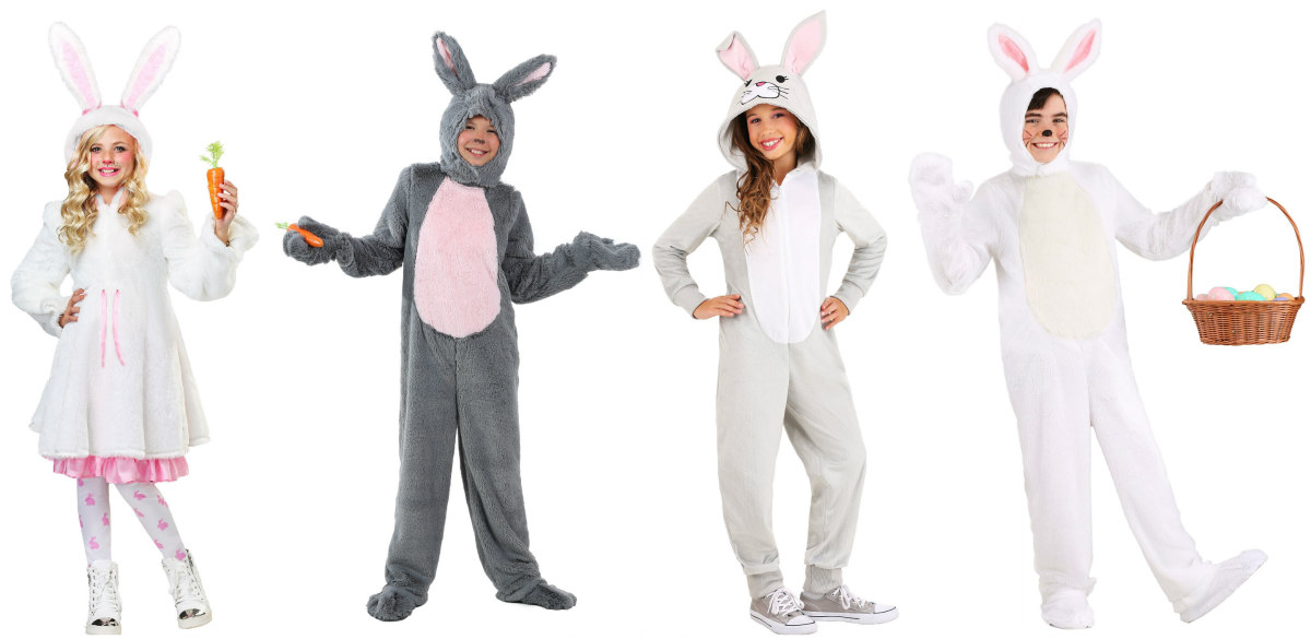 Kids' Easter Bunny Costumes