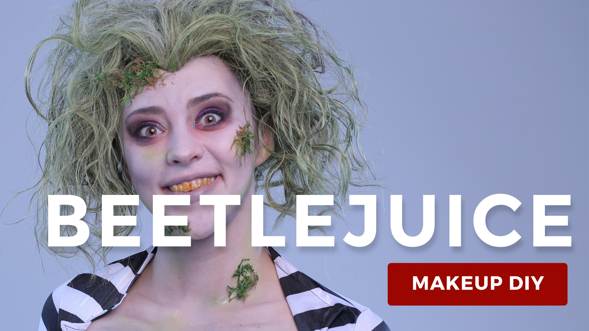 beetlejuice makeup tutorial - halloween costumes blog