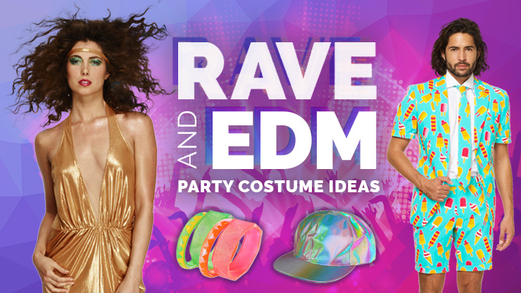 Rave and EDM Party Costume Ideas