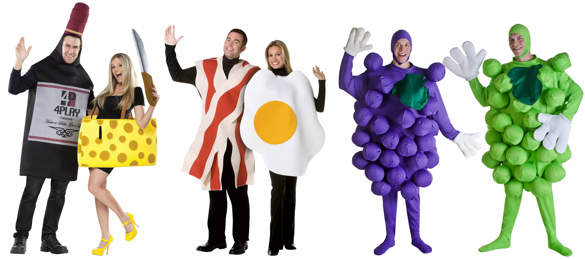 Food Pairing Halloween Costume Ideas
