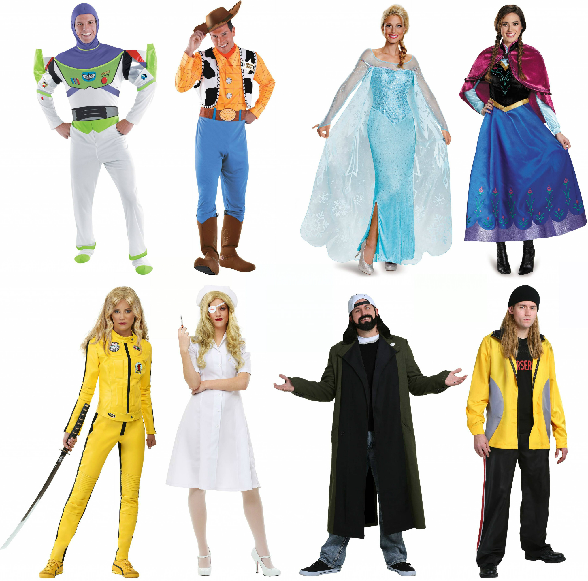 halloween costume guide for bffs - halloween costumes blog
