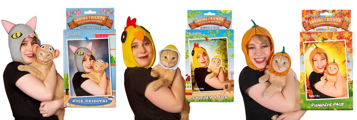 Cat and Owner Costumes