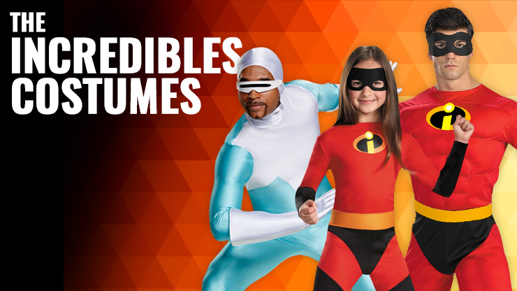 Disney Incredibles Costumes
