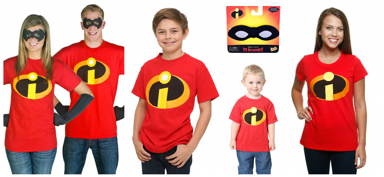 Incredibles Costume Shirts