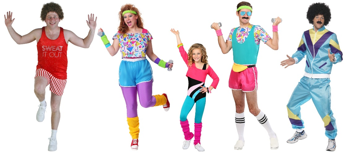 80s Workout Costume Ideas