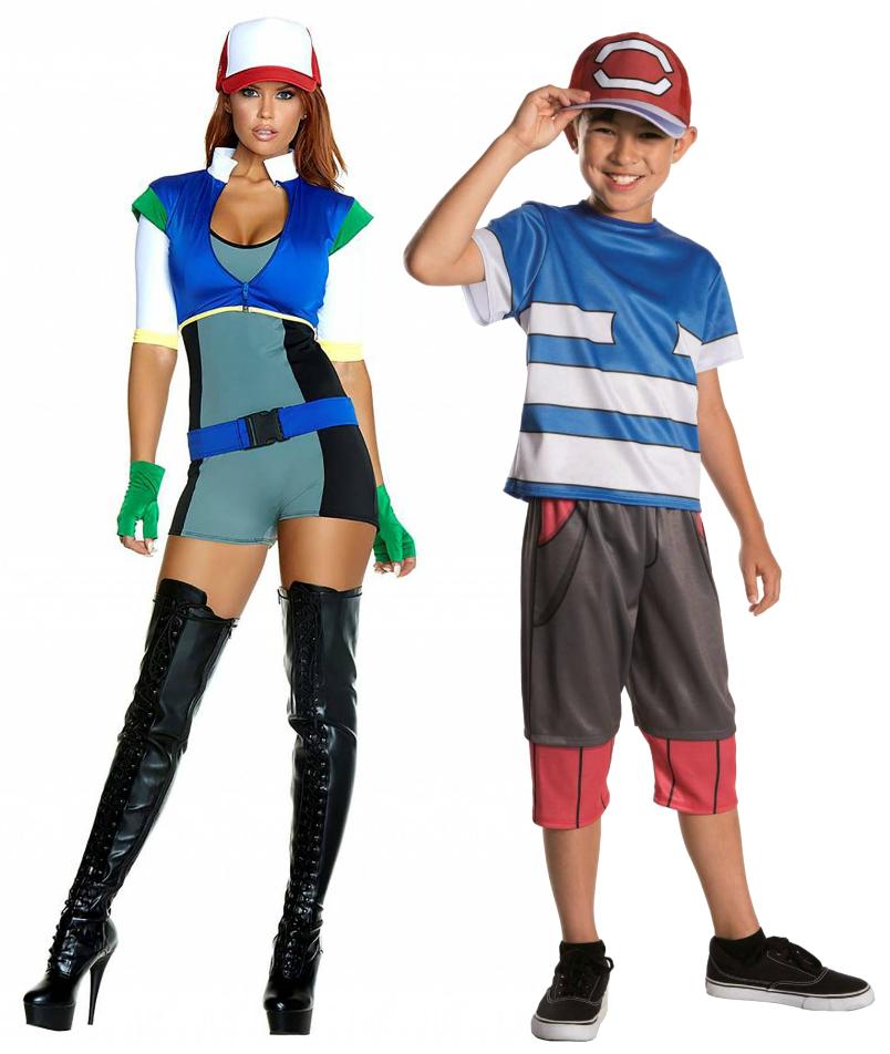 Ash costumes