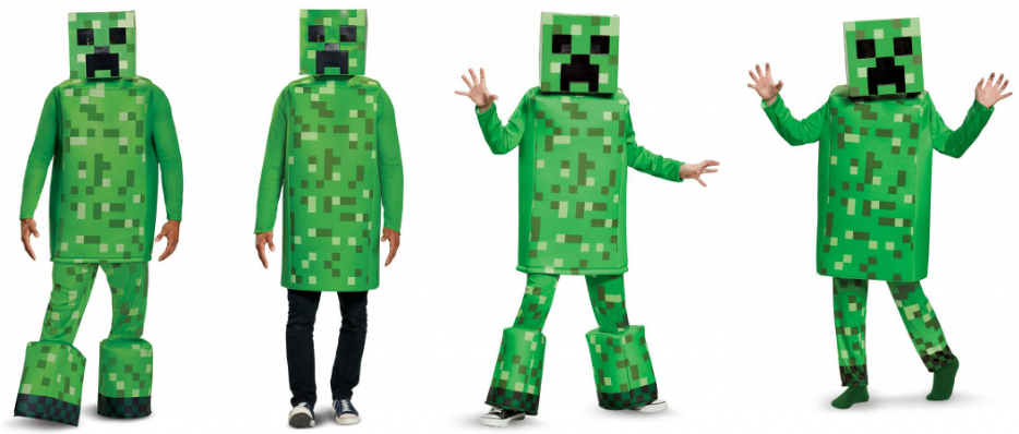 Creeper costumes