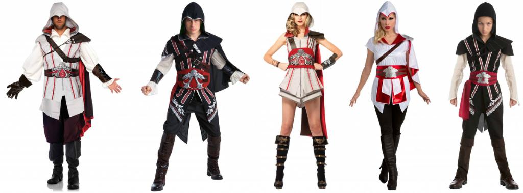 Ezio costumes