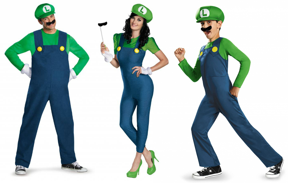Luigi costumes