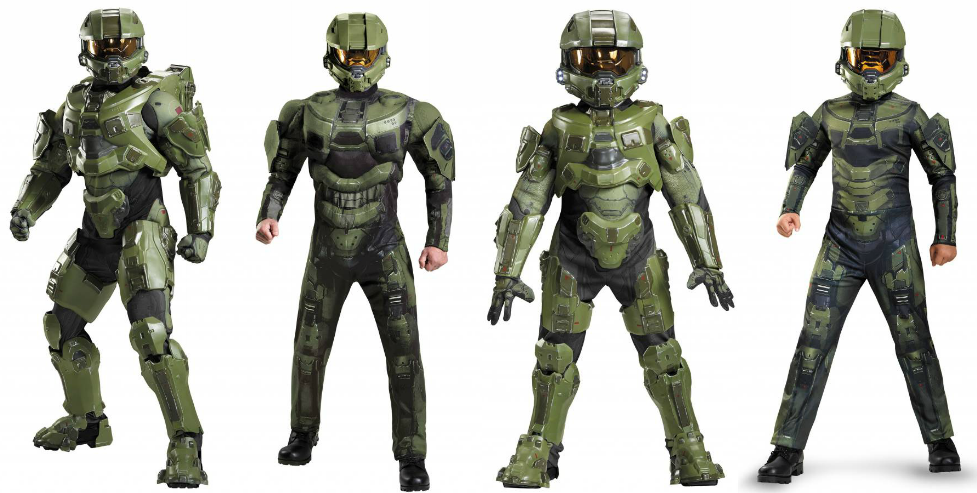 Halo Master Chief costumes