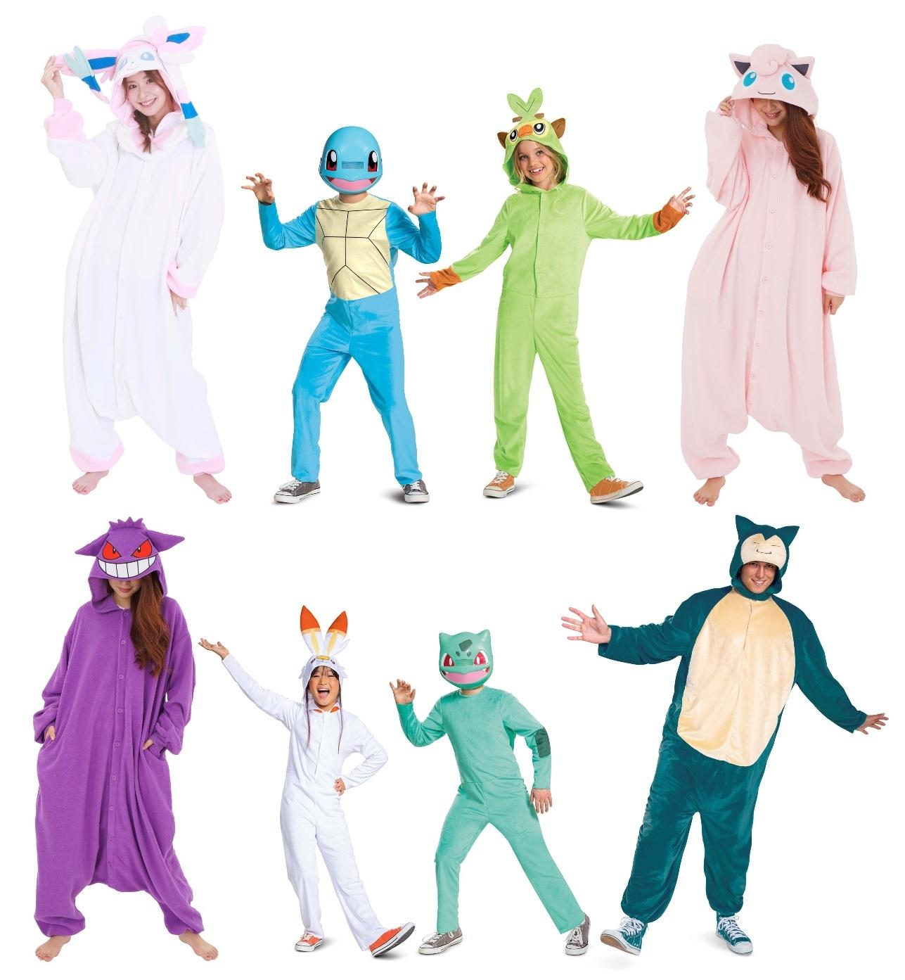 Other Pokémon Halloween Costumes